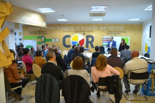 Training COR household recycling centres staff in ACTAIS® Waste