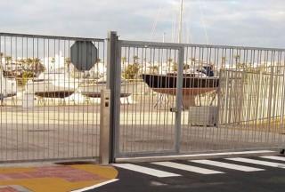 Instalación de nuevo sistema de control de acceso e interfonía IP en el Puerto de Rota.