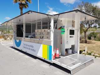 ACTAIS Waste, terminal en ecoparque movil