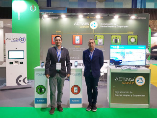 Ecocomputer exhibited at Greencities 2019