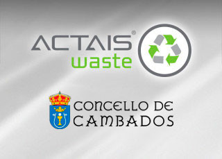 ACTAIS® Waste projects in Cambados.