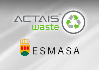 ACTAIS® Waste solution installed in ESMASA household waste recycling centres.
