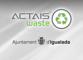 ACTAIS® Waste installed in Igualada household waste recycling centres.