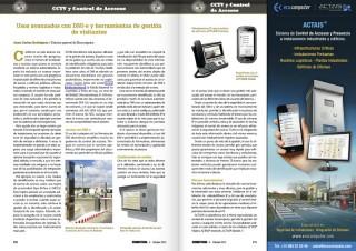 Artículo de Ecocomputer en la revista Seguritecnia (Octubre 2015)